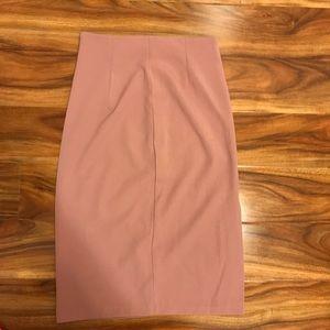 Dusty Rose Skirt